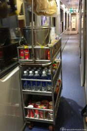 The rolling on-board bistro