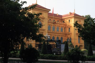 The Presidential Palace in Hanoi