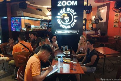 Das Café Zoom