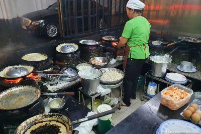 Die Küche im Banh Xeo