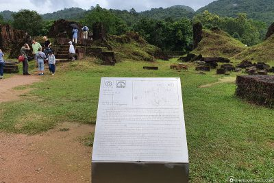 The ruins of Group A