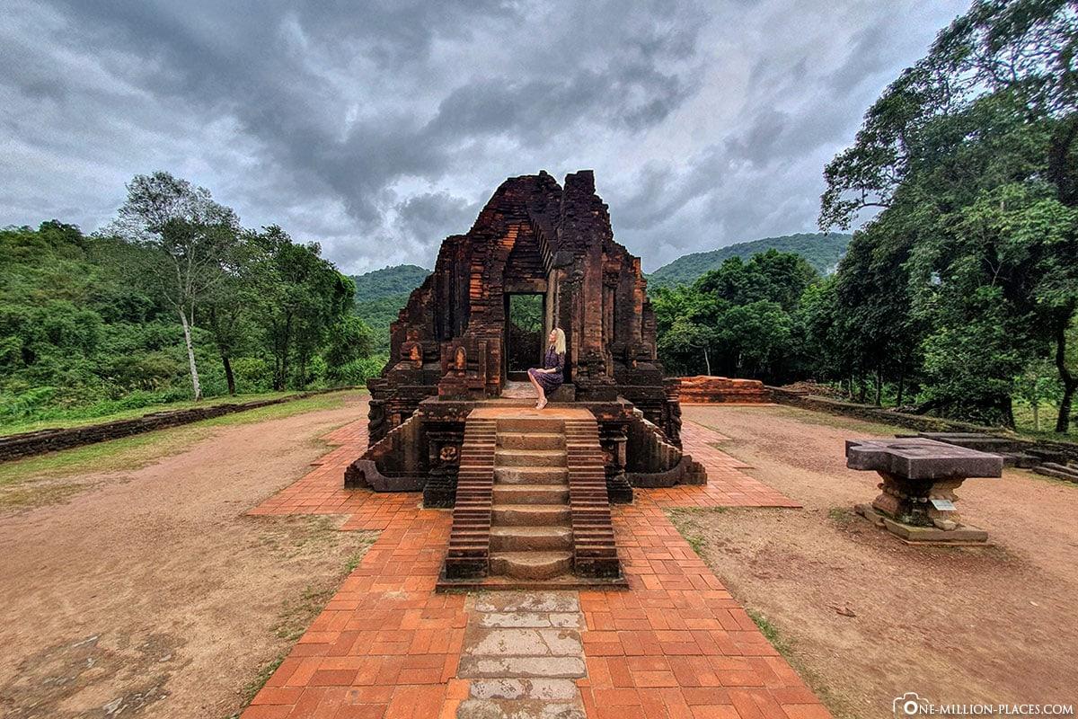 My Son, Temple, Vietnam, Hoi An, Central Vietnam, UNESCO, TravelReport