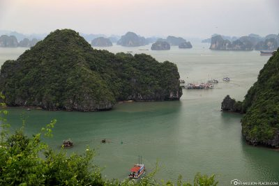View from Titop Island