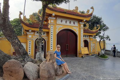 The entrance gate to the pagoda