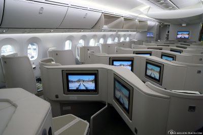 Die Business Class von Vietnam Airlines