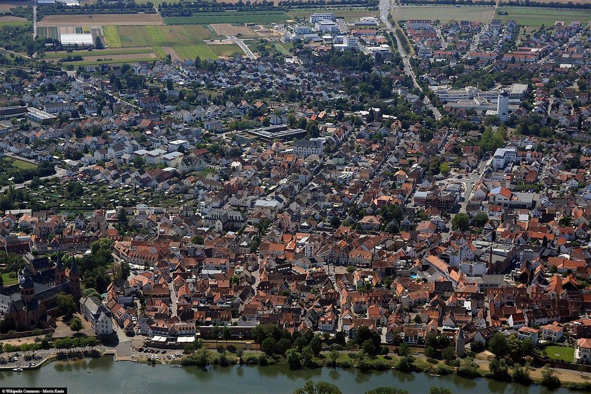 Seligenstadt am Main, Luftbild