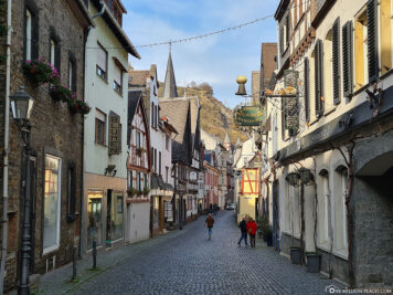The old town of Bacharach