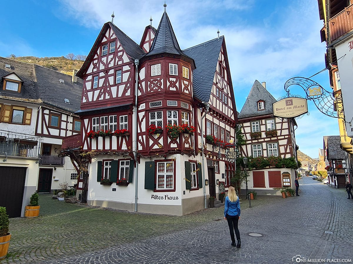 Old House, Bacharach, Old Town, Sights, Photo Spot, TravelReport, Rhineland-Palatinate, Germany