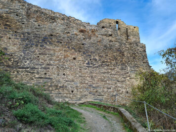 The city fortifications