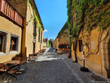 The Fuggerei in Augsburg