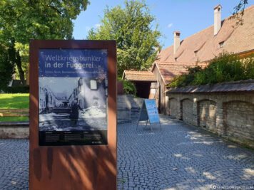 World War II bunker in the Fuggerei