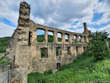 Die Ruinen der Burg Metternich