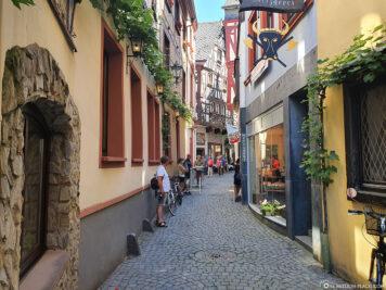Die schmalen Gassen der Altstadt