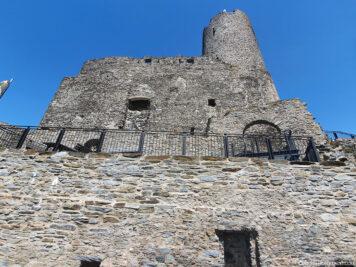 Die Burg Landshut
