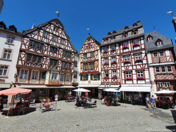 The historic marketplace