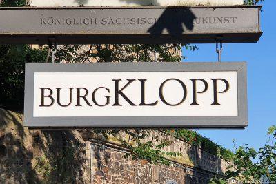 Entrance to Klopp Castle