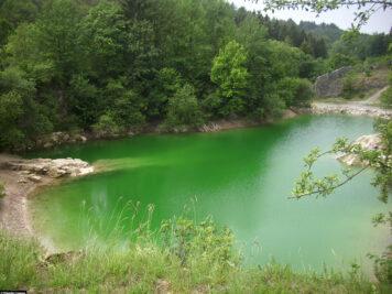So schön kann der See im Sommer aussehen