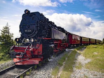 The Brocken railway in the Harz