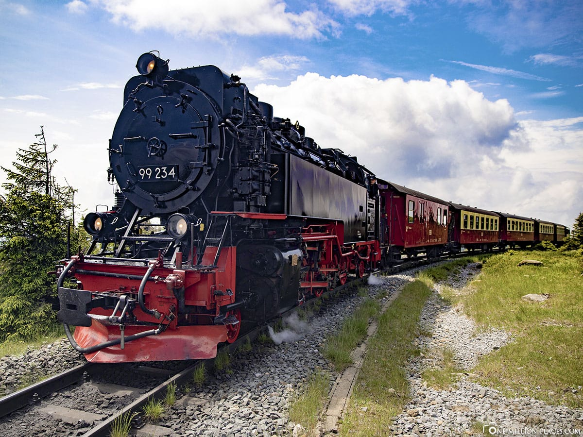 Brockenbahn, Harz, Summit, Steam Locomotive, Travel Report, Germany