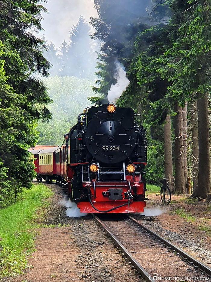 Brockenbahn, Schierke, Nationalpark Harz, Dampflok, Reisebericht