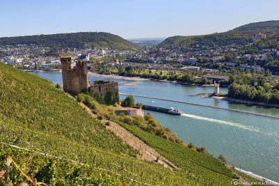 Ehrenfels Castle & the Upper Middle Rhine Valley
