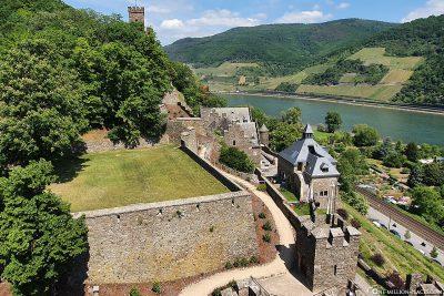 The castle complex