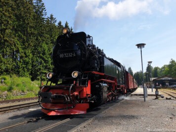The Brocken Railway in Schierke