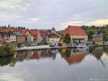 The city of Marktbreit