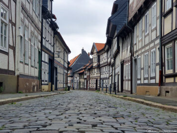 Half-timbered houses in Goslar