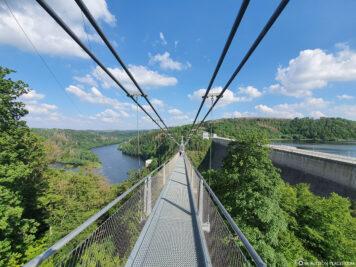 Suspension rope bridge Titan RT