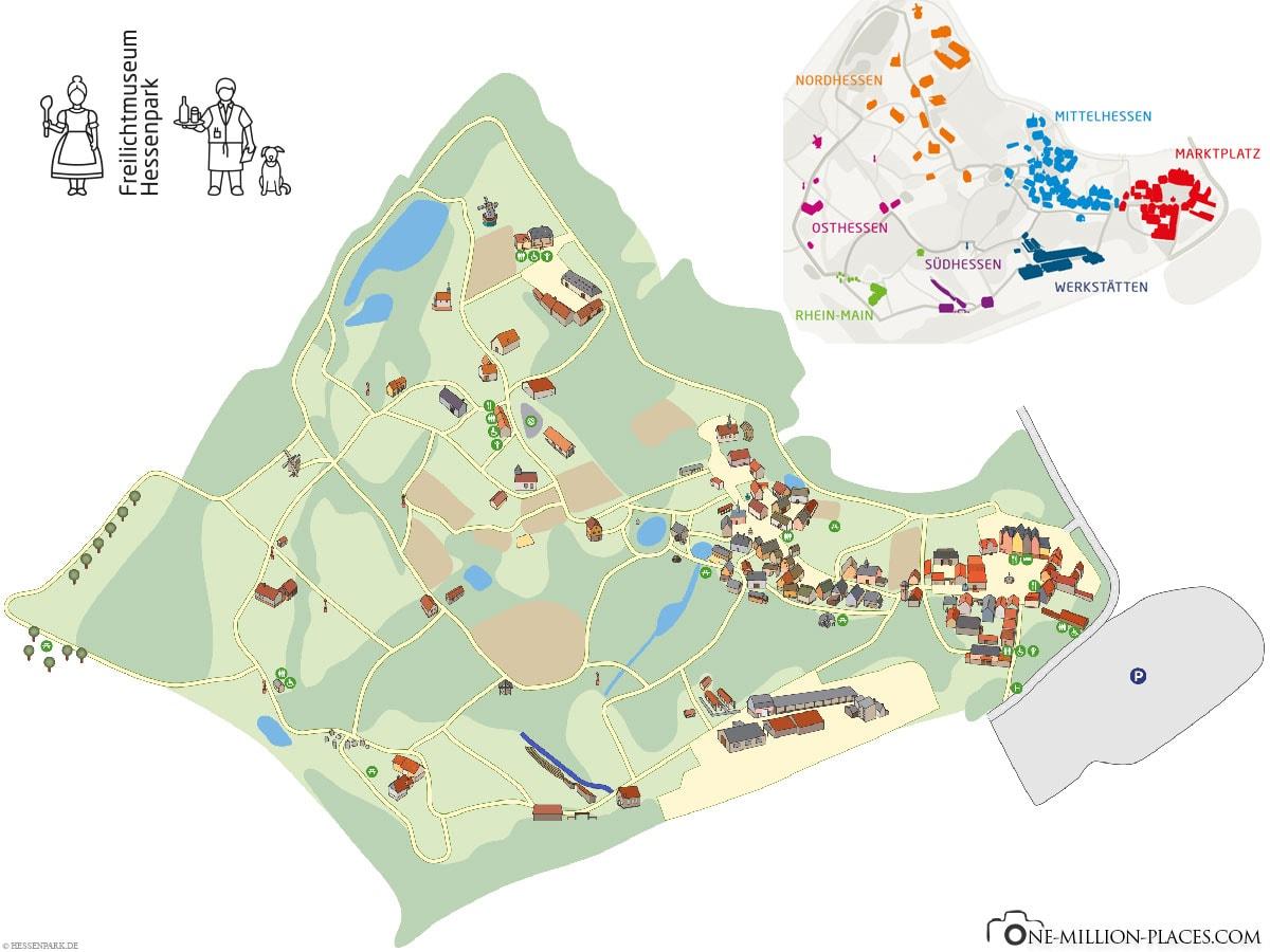 Hessenpark Open Air Museum, Map, Plan, Travelreport, Blog