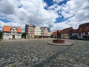 Market Square and Market Fountain