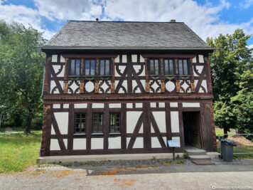 Half-timbered house from Central Hesse
