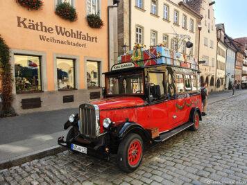 Käthe Wohlfahrt in Rothenburg