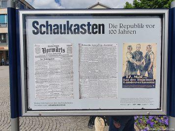 Die Republik vor 100 Jahren