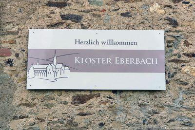 Entrance to Eberbach Abbey