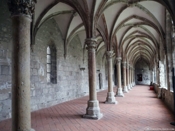 Double-nave cloister in Walkenried Monastery