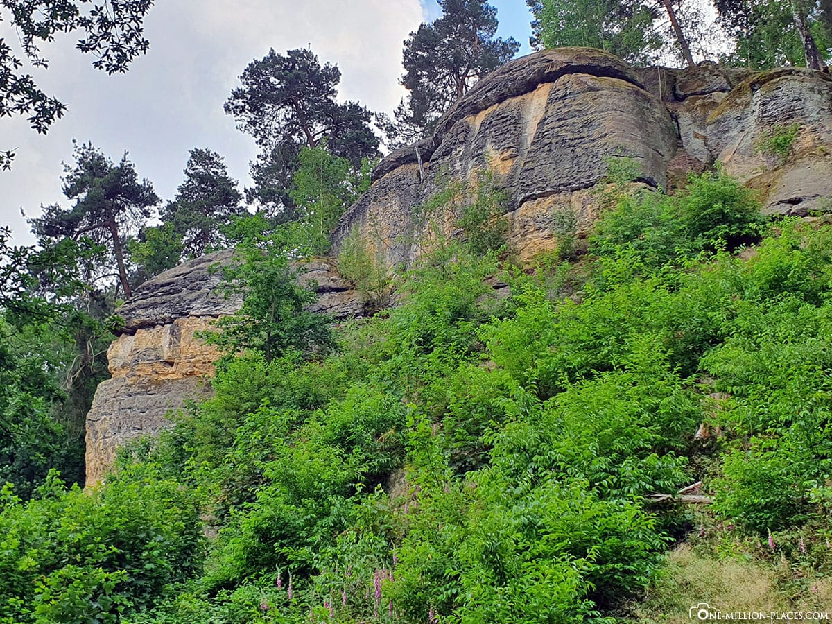 Teufelskanzel, Klusberge, Halberstadt, Rock Formation, Travelreport, Germany