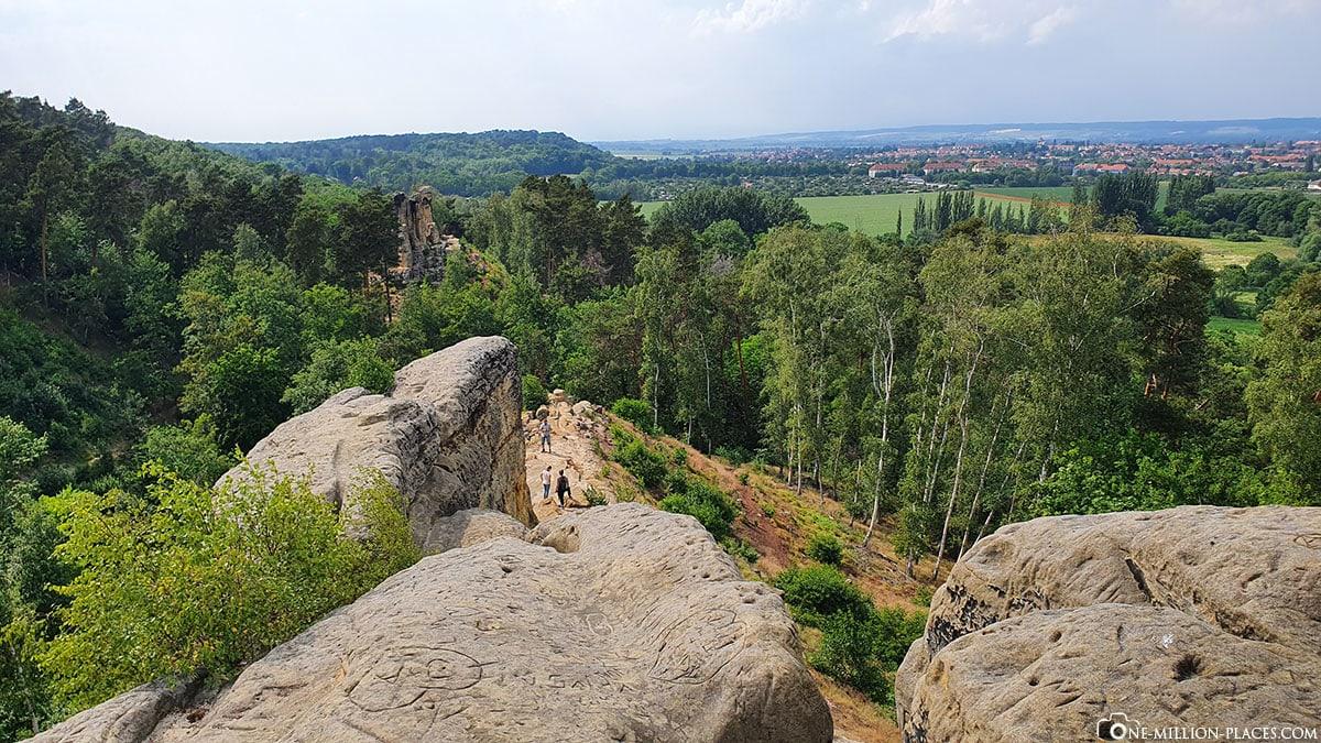 Fünffingerfelsen, Klusberge, Halberstadt, Blogbeitrag