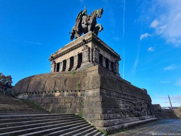 The monument of Kaiser Wilhelm I.