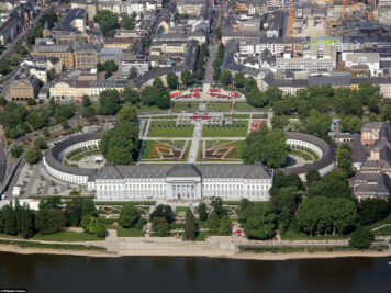 The Electoral Palace in Koblenz