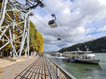 The cable car in Koblenz