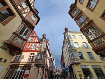 The Four Towers in the Old Town of Koblenz