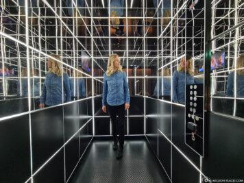 Der futuristische Fahrstuhl