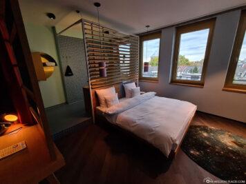 Die geräumigen Large Zimmer