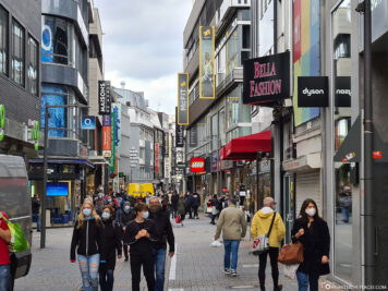 The city centre of Cologne