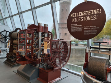 Histrorian chocolate machines