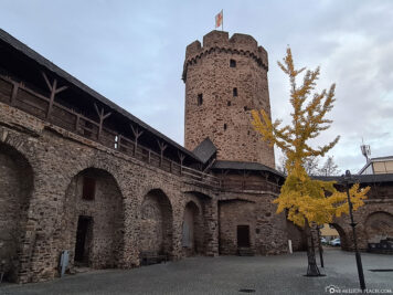 Witch Tower with City Wall Lahnstein