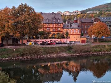 Historic inn on the Lahn