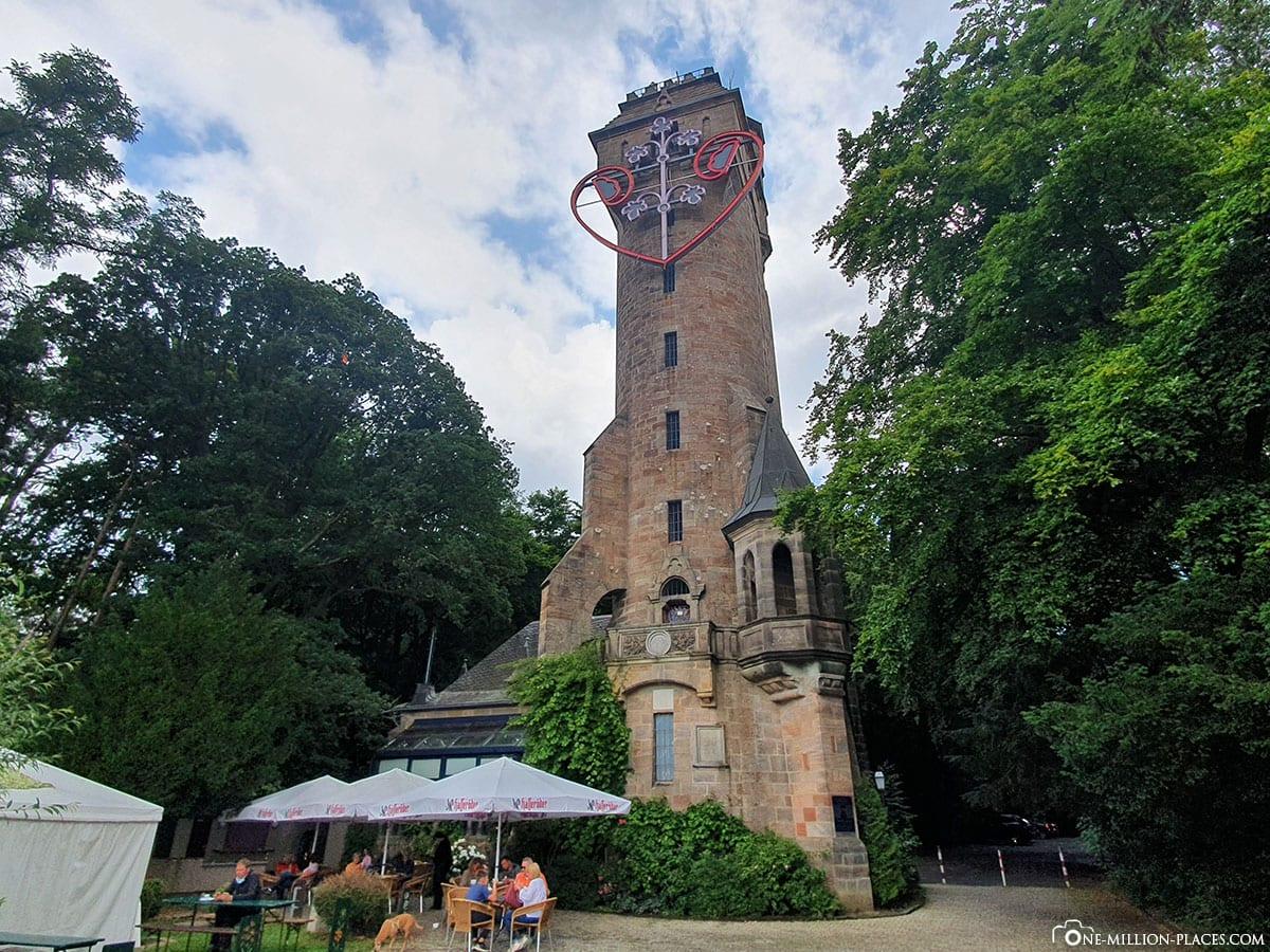 Kaiser Wilhelm Tower, Spiegelslustturm, Marburg, Sights, Photospots, TravelReport, Hesse, Germany, Blog